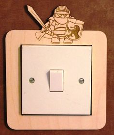 More Decorative switch surrounds by PimpernelPuzzles on Etsy