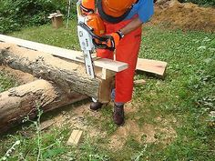 Haddon Lumbermaker Chainsaw Mill Made In USA Cut Tree Falls Off Chain Saw Boards