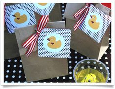 Simply stylish Little Duck party