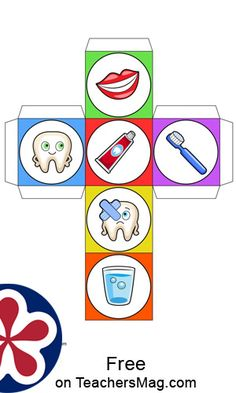 Dental Health Graph Activity With a Rolling Cube Dental health is extremely important and by making learning about it a fun activity, that can assist in students being interested in why dental health is so key. Paper Plate Crafts For Kids, Diy Crafts For Girls, Free Preschool, Preschool Activities, Free Printable Worksheets, Matching Worksheets, Toddler Art Projects, Health Activities, Science