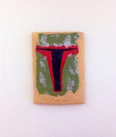 Star Wars Pop Tart - Boba Fett by YouArtWhatYouEat on Etsy https://www.etsy.com/listing/229696624/star-wars-pop-tart-boba-fett