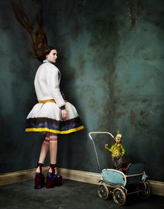 Fashiontography: Circus Humanus by Aitken Jolly