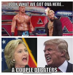 Enzo and big cass cuppa Hatas meme political style