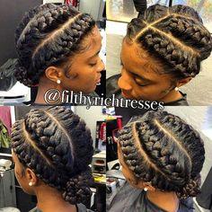 31 Goddess Braids Hairstyles for Black Women