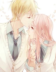 Anime kawaii love