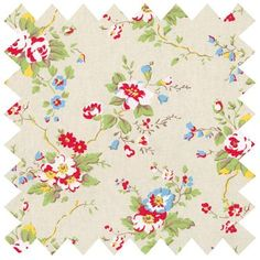 This pretty Summer Blossom fabric is ideal for use as: *Curtains *Cushion Covers *Craft *Upholstery. Click here to view our fabric buying guide.