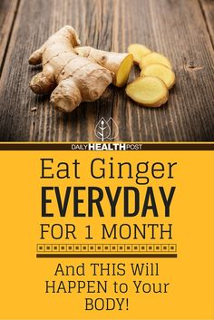 If you_re familiar with traditional medicine, than you probably know the value of ginger as a medicinal plant. Eating ginger every day can cause massive benefit to your heart and brain.