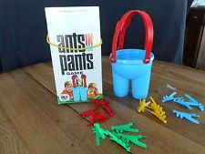 Vintage game Schaper Ants in the Pants Game 1969 Complete Missing some ants