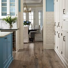 Lead your guests to the party with gorgeous floor like Pergo Max Bainbridge Oak.