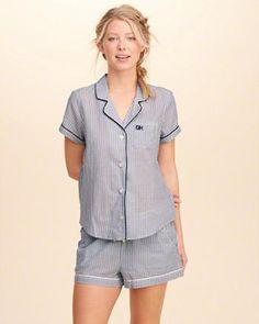 Poplin Sleep Shirt