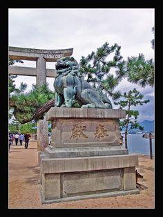 guardian of the temple-Miyajima island