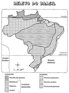 30 Mapas do Brasil para Colorir e Imprimir - Político, Capitais, Regiões, Clima, Relevo - Online Cursos Gratuitos Learn Portuguese, Studyblr, School Projects, Homeschool, 30, Geography, Desktop, Teaching Geography, Geography Activities