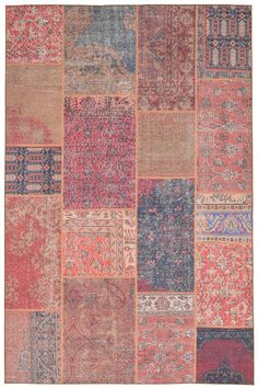 Add artistic appeal to your abode with this Liora Manne Havana Patchwork indoor and outdoor rug. In rust. Patchwork Rugs, Patchwork Patterns, Rectangular Rugs, Indoor Outdoor Area Rugs, Carpet Stains, Cool Rugs, Online Home Decor Stores, Rugs On Carpet