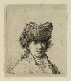Mijn favoriete Rembrandt in Teylers Museum: Rembrandt, zelfportret (B24)