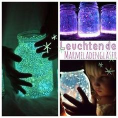 Miss Dandelion becomes a kindergarten teacher: glitter fairies in a glass - Crafts Diy Crafts For Teens, Crafts To Sell, Diy For Kids, Diy And Crafts, Diy Décoration, Kindergarten Teachers, Craft Videos, Kids And Parenting, Activities For Kids