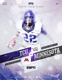 Prove them right. @TCUFTW continues to grace the world with some of the best graphics in CFB. #GoFrogs