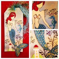 My Prima Doll Stamp-Mermaid…