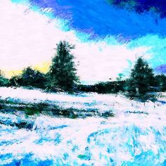Winter at the Countryside (Westerwald) 02