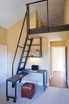 Contemporain Bureau à domicile by Upscale Construction