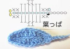 かぎ編みレッスン#葉っぱ1:かぎ編みの基本 How to Crochet
