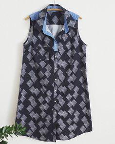 One more! Kinda smitten with this #aldershirtdress from @grainlinestudio. #sewinglovealdershirtdress,sewingloveamandacarstereo_makes