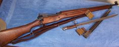 Model 1917 Enfield 30-06.  Manufactured by Remington, Eddystone, and Winchester.