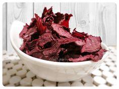 Dehydrated Smokey Beetroot Chips - raw & vegan :-)