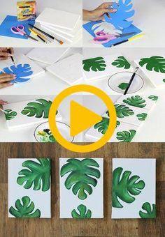 DIY: quadros decorativos Mais  #decorativos #quadros Outdoor Garden Decor, Diy, Decorative Frames, Bricolage, Do It Yourself, Homemade, Diys, Crafting