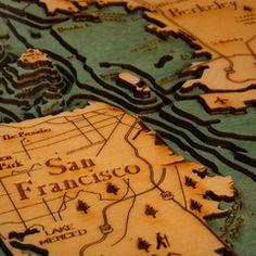 Below the Boat - San Francisco Bay