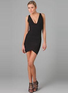 Cheap Herve Leger V-Neck Dress Guarantee Quality. Discount Herve Leger  V-Neck Dress save 3664dca1b