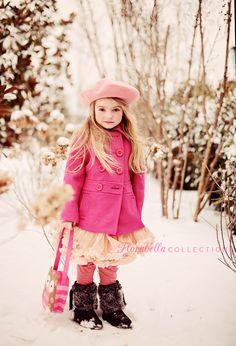Snow Princess II - Florabella Collection Photoshop Actions via Cute Precious Snow Photography, Photography Logo Design, Children Photography, Photography Ideas, Beautiful Little Girls, Beautiful Children, Little Girl Photos, Kid Photos, Snow Pictures