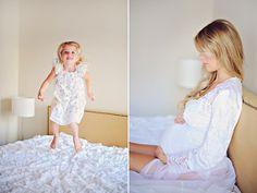 Purple maternity shoot by Arina B Photography | 100 Layer Cakelet