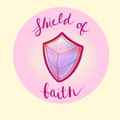 """Little Branches Paper Co on Instagram: """"#inktober2019 Shield of Faith! So important and I'm pretty pleased with how this illustration turned out! #inktober #inktoberillustration…"""" Shield Of Faith, Papers Co, Inktober, Branches, Christian, Illustration, Pretty, Instagram, Illustrations"""