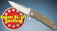 Enlan EL01 Tactical Taschenmesser 9,2 cm Klingenlänge http://www.mychannel2016hd.de