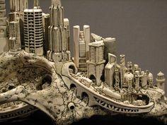modern ceramic sculpture