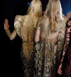 Dettagli b-side Elie Saab - Decorazioni esclusive e scintillanti dalla collezione sposa 2016