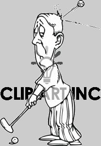 Funny Golf Clip Art Free | Golf Clip Art, Pictures, Vector Clipart, Royalty-Free Images # 1