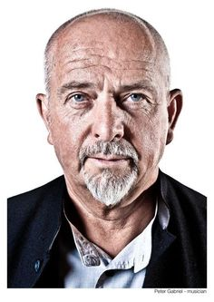Peter Gabriel - Celebrity Portraiture by Baldur Bragason, via Behance