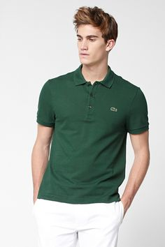 Lacoste Short Sleeve Slim Fit Pique Polo shirt