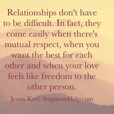 I never subscribed to the theory that relationships need to be hard work. Sure, you need to be mindful of how you treat your partner, but the right relationship can be easy peasy if your love feels like freedom.