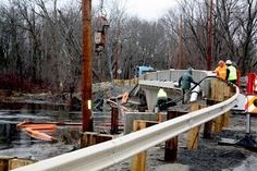 Pelham Island Bridge Opened 12/28/12