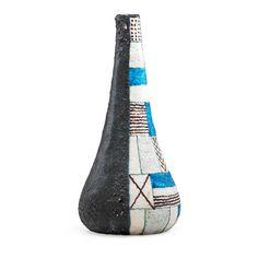 Guido Gambone; Glazed Earthenware Vessel, 1960s.