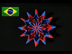 Origami: Fogos de Artifício / Fireworks ( Yami Yamauchi ) - Instruções em português PT BR - YouTube
