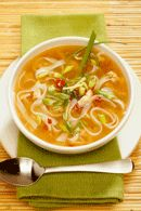Healthy Lunch Recipes: Chicken Noodle Soup. #HealthyRecipes #DietRecipes #WeightLoss #WeightlossRecipes weightloss.com.au