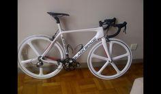 The one side of a custom bike I call ying yang