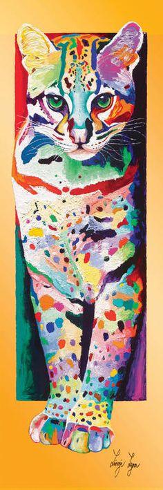 "Saatchi Art Artist: Linzi Lynn; Giclée 2008 Printmaking ""NIGHT HUNT - Limited Edition #14 of 50"""