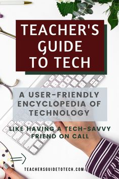 A digital handbook you'll use all year: Keep it on your desktop, laptop, tablet — even your phone — to help you navigate the tech world with confidence. Like having a tech-savvy friend on call to explain things in plain language, the guide will give you a sense of control over all the options. #CultofPedagogy Cult Of Pedagogy, Teaching Philosophy, School Grades, Teaching Strategies, Future Classroom, Professional Development, Educational Technology, Classroom Management, Confidence