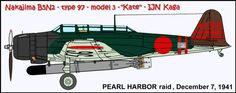 Pearl Harbor .... AII-356 was flown by a buntaicho - First wave