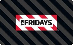 Get a TGI Fridays Gift Card for Only - Email Delivery for sale online Gift Card Sale, Free Gift Cards, 30 Gifts, Great Gifts, Restaurant Gift Cards, Tgi Fridays, Enter Sweepstakes, Meeting New People, Tgif