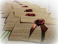 book page invitation